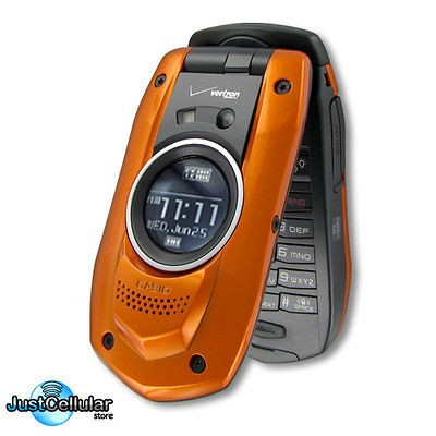 Casio GzOne Boulder VCast Waterproof GPS Camera Cell Phone No Contract