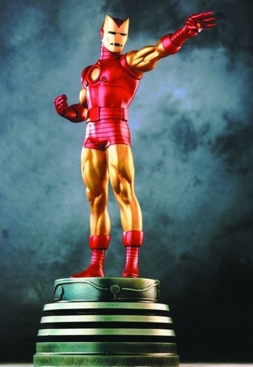 2001 IRON MAN RETRO BOWEN DESIGNS FULL SIZE STATUE #/2000 RANDY BOWEN