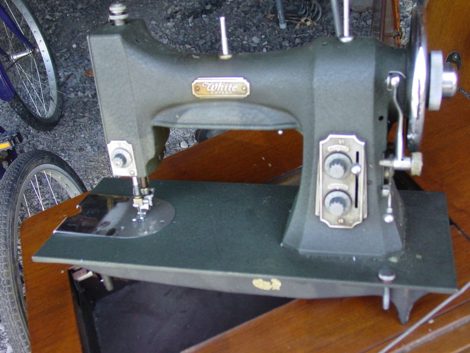Vintage White Sewing Machine Model 40 Interesting White Sewing Machine Model 77
