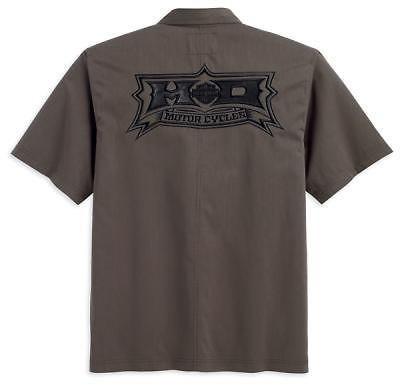 harley davidson woven shirt in Casual Shirts
