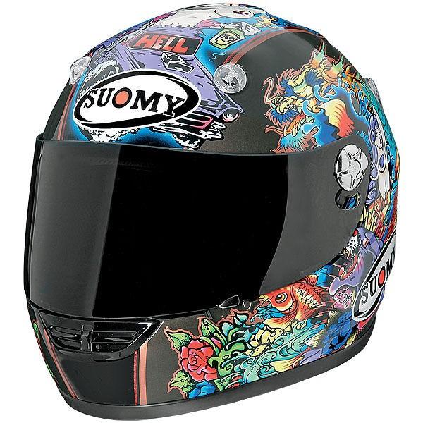 Suomy Vandal Tattoo Flash Full Face Motorcycle Helmet