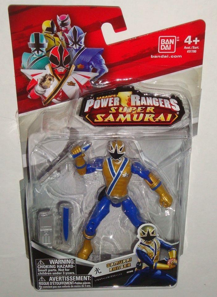 Power Rangers Samurai figure 4 inch Gold Light Samurai Ranger