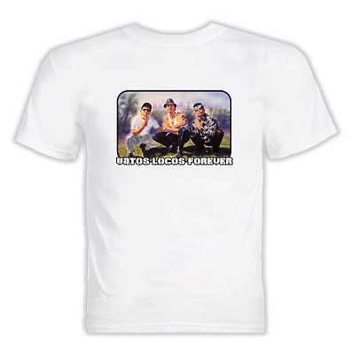 Vatos Locos Forever Blood In Blood Out T Shirt White