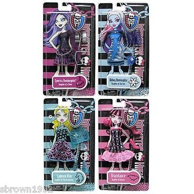 MONSTER HIGH FASHION OUTFIT CLOTHES LOT OF 4   LAGOONA SPECTRA ABBEY