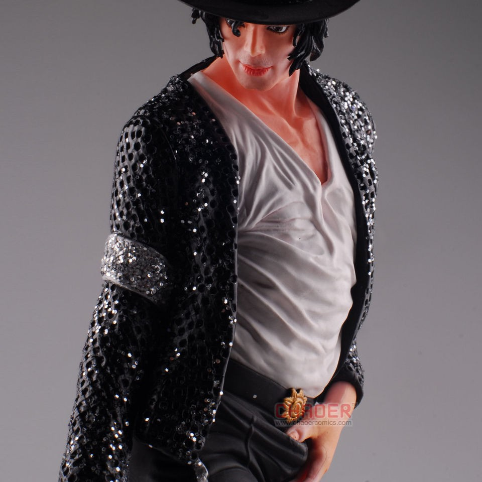 Scale MJ Michael Jackson Billie Jean Figure Doll Statue Thriller