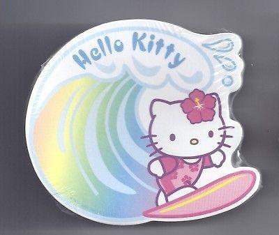 Sanrio Hello Kitty Sticky Notes Hawaii Surf Wave