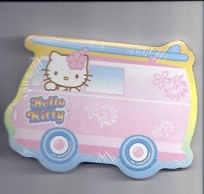 Sanrio Hello Kitty Sticky Notes Hawaii Surf Van