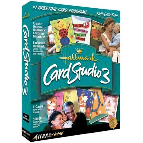 Hallmark Card Studio 3 PC, 2001