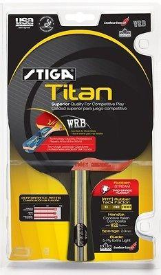 NEW Stiga Titan Racket Table Tennis Ping Pong Paddle