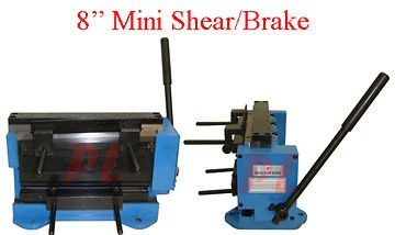 18 Gauge Shear Brake Bender Sheet Metal Brass Cutter Cutting