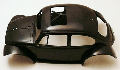 9335623 amiya 1/10 Monser Beele Blizer Beele 2011 Body Shell