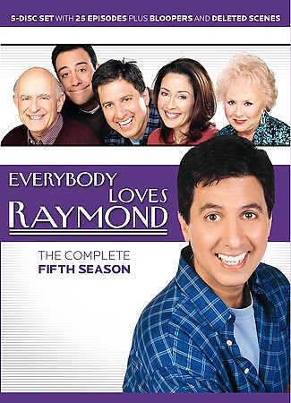 Everybody Loves Raymond The Complete Fifth Season DVD, 2005, 5 Disc