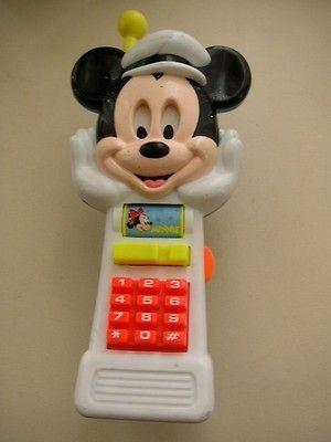 Vintage, Disney Arco Mickey Mouse Mobile Car Phone