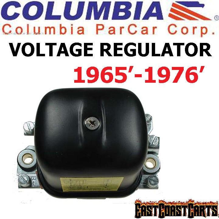 Columbia Par Car   Harley Davidson 1965 1976 Golf Cart Voltage