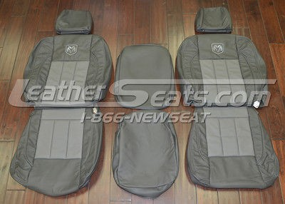 2008 Dodge Ram Mega Cab Leather Seat Covers Custom Upholstery New 2007