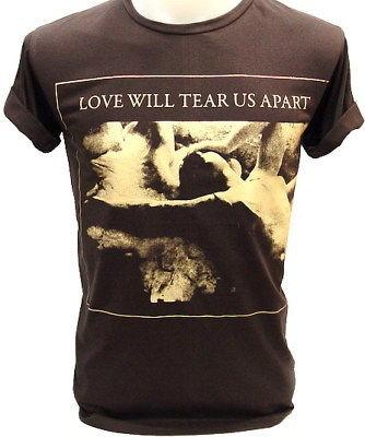 JOY DIVISION Love Will Tear Us Ian Curtis VTG T Shirt M