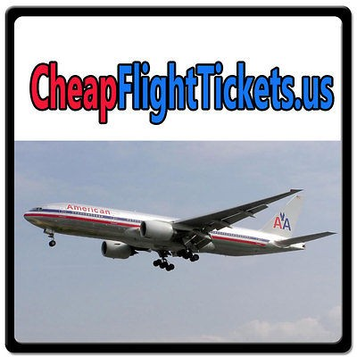 Flight Tickets.us WEB DOMAIN FOR SALE/TRAVEL/AIRLINE/AIRPLANE/FARES