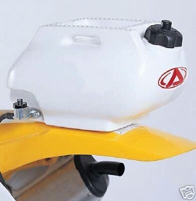 Acerbis Rear Auxiliary Fuel Tank 1.6 Gal.   White