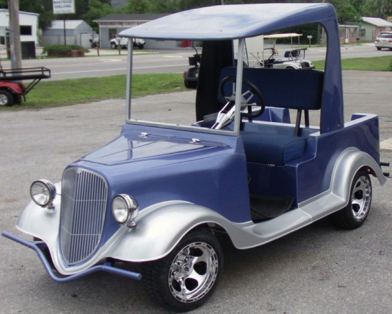 golf cart body kits in Push Pull Golf Carts