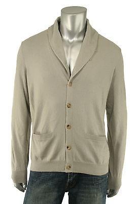 Ralph Lauren Black Label Gray Cashmere Cardigan Sweater New $795