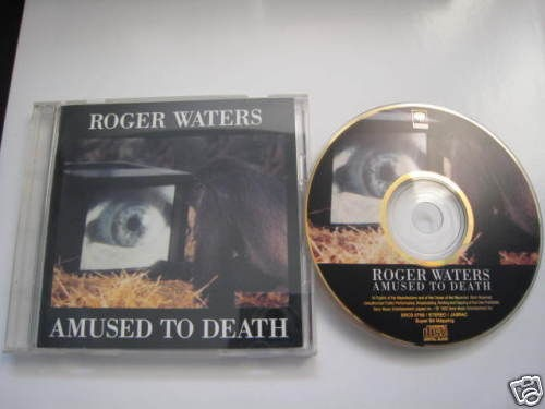 Roger Waters Amused to Death Japan Gold CD Pink Floyd Audiophile SBM