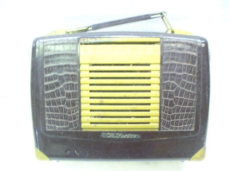 rca victor bx 57 vintage radio time left $ 24
