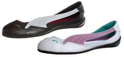 PUMA LILY BALLET LACE N WOMENS FLAT BALLERINA SHOES ALL SIZES 7f43a3804