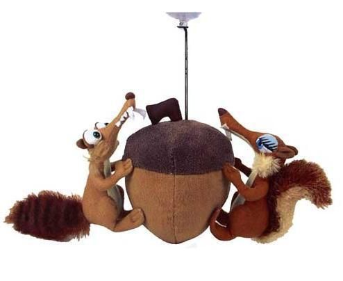 Acorn with Scrat and Scrat Girl Ice Age Toy Plush Doll