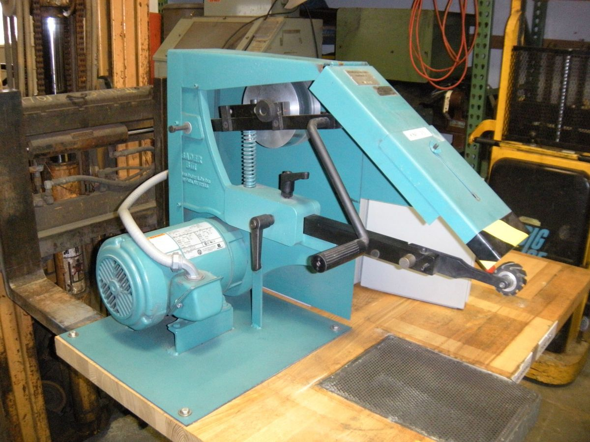 Stephen Bader Biii B3 Belt Grinder Sander Variable Speed 2HP Burr King