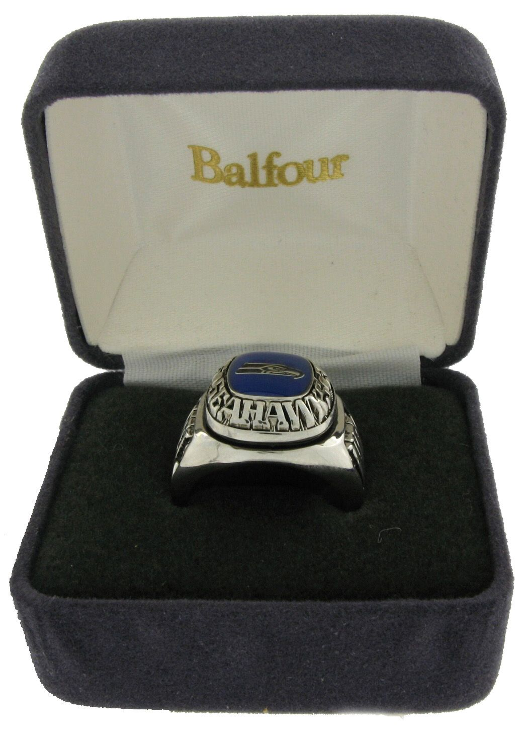 Balfour Ring Football NFL Team Seattle Seahawks Sz 7 5