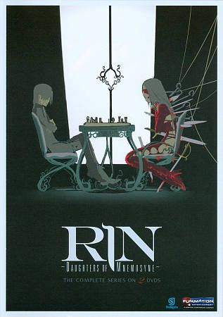 RIN Daughter of Mnemosyne   The Complete Series DVD, 2011, 2 Disc Set