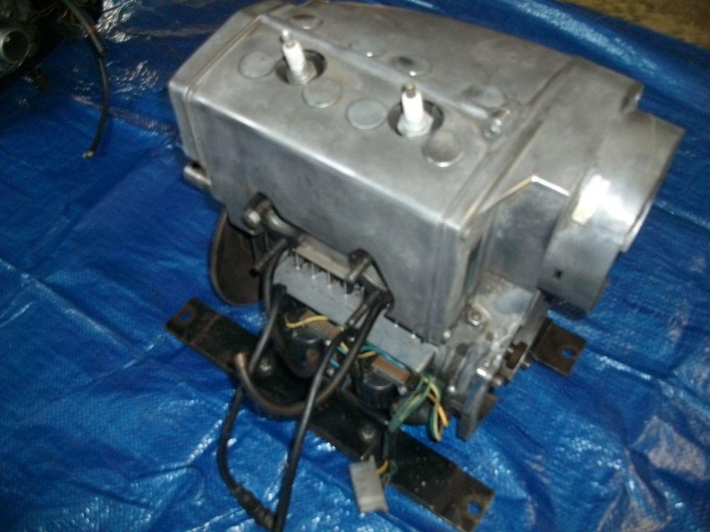 RARE VINTAGE SKI DOO ROTAX 294 CC 1973 SILVER BULLET SNOWMOBILE ENGINE