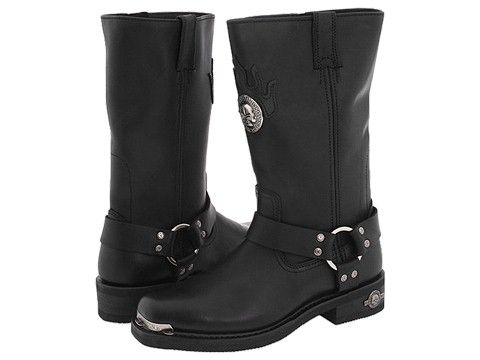 Harley Davidson Delinquent Mens Harness Boot Shoes