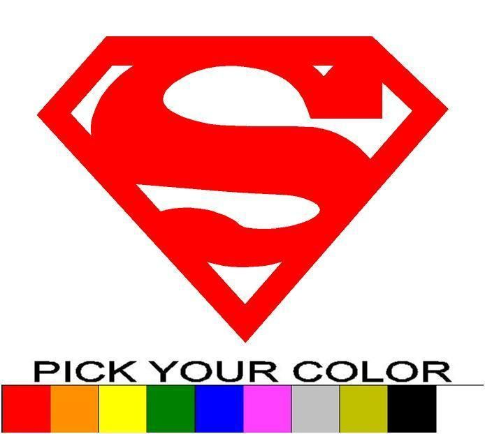Superman 3 Decal Sticker Vinyl Car Window