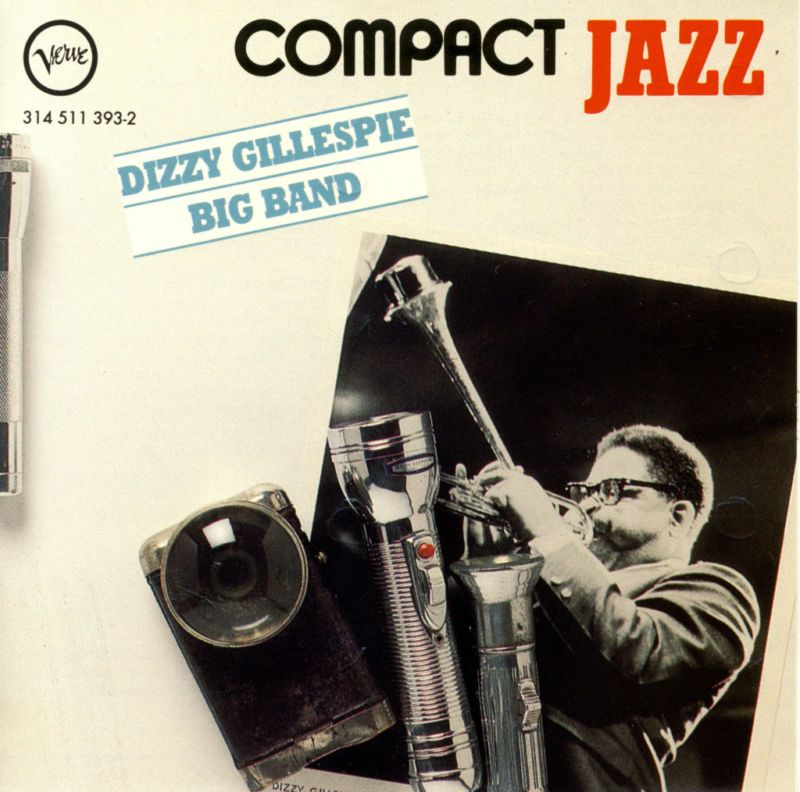 Dizzy Gillespie Big Band Compact Jazz CD 15 Songs NMINT 731451139321