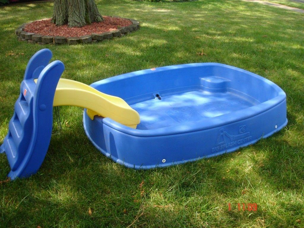 Step 2 Big Splash Center Pool W Slide Combo Hard To Find Local Pick Up