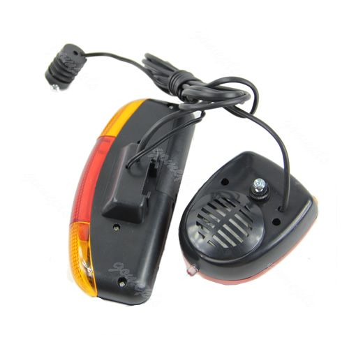 New 3 in 1 Bicycle Bike Cycling 7 LED Turn Signal Brake Light Lamp