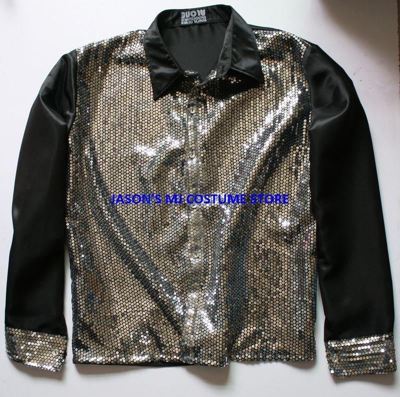 Michael Jackson Billie Jean 25th Motown Sequin Shirt 2