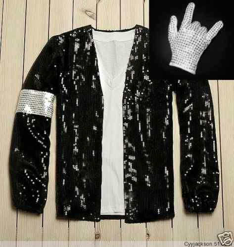 Michael Jackson Billie Jean Style Jacket Free Glove