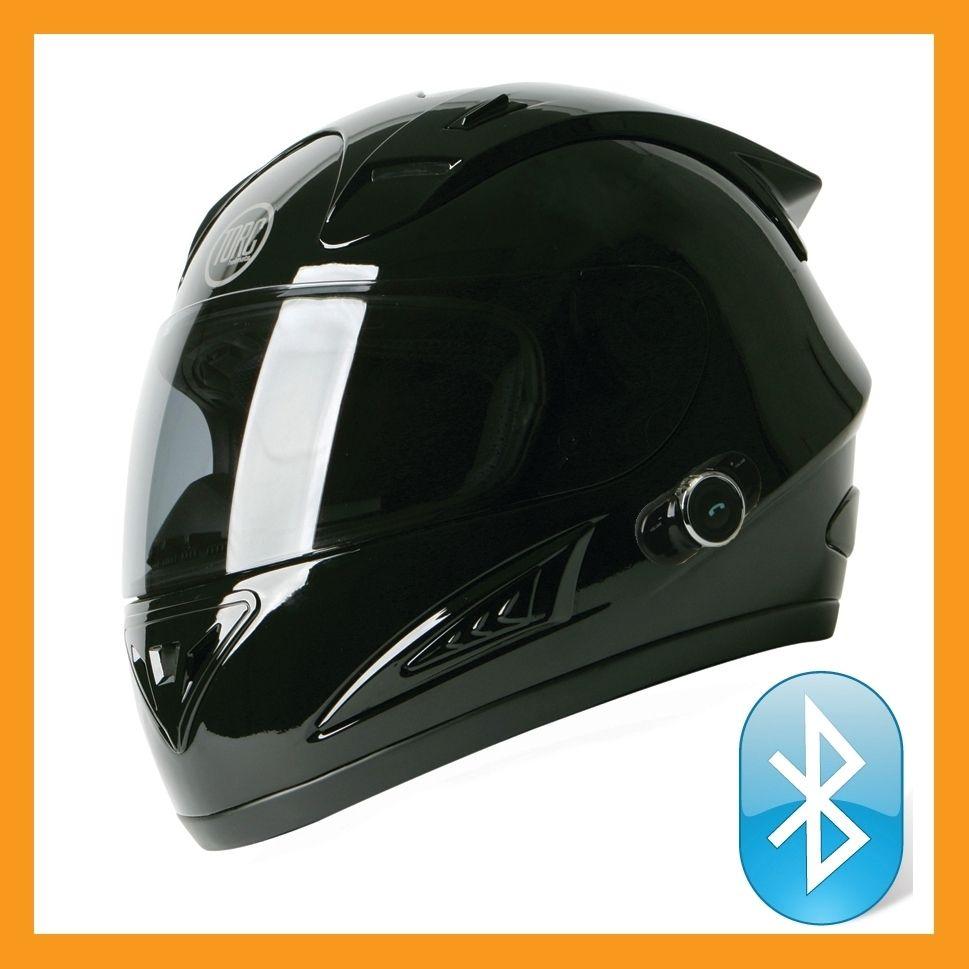 Torc Prodity T10B Full Face Bluetooth Blinc Motorcycle Helmet Glossy