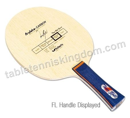 Butterfly Timo Boll Spirit Arylate Carbon Table Tennis Blade