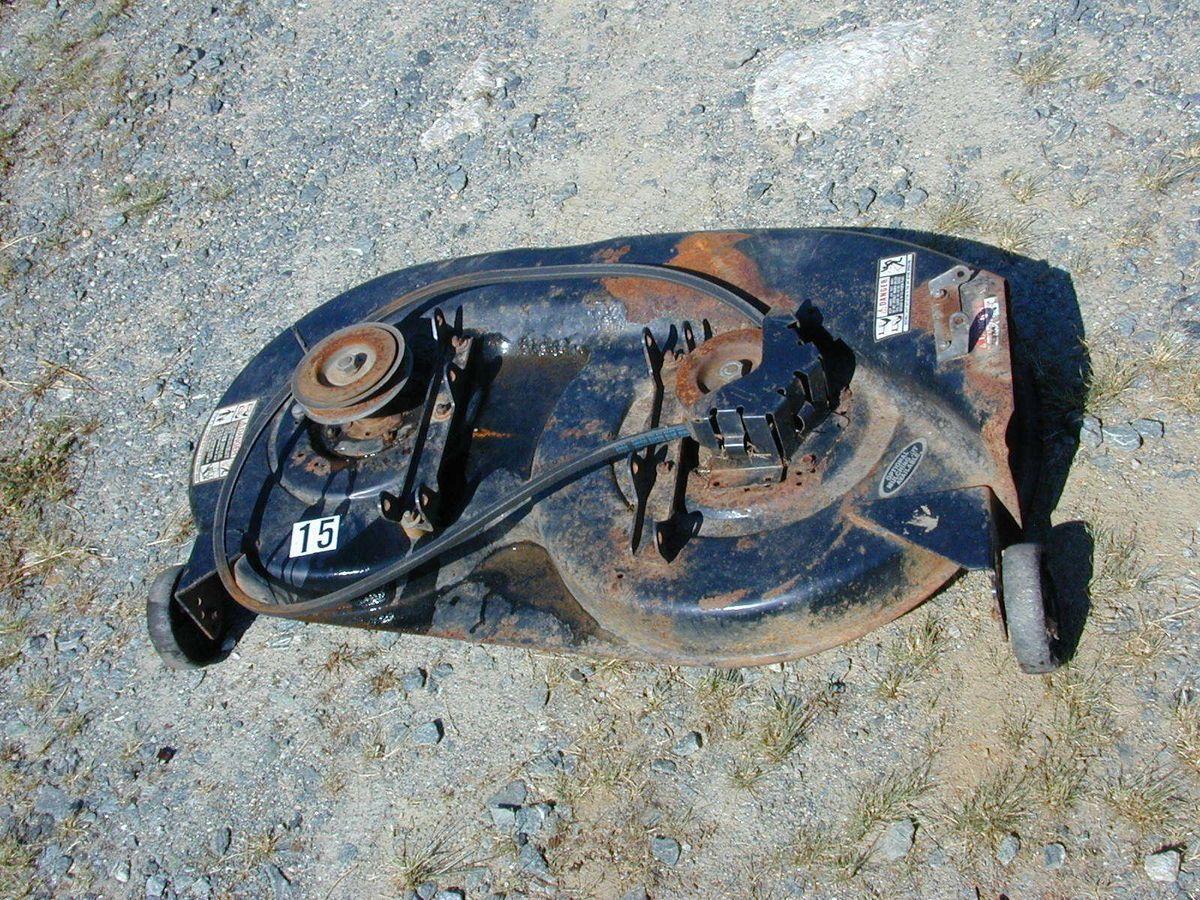 15 Bolens Mtd Huskee Riding Lawn Mower Deck 38 Black Wiring Diagram 1053