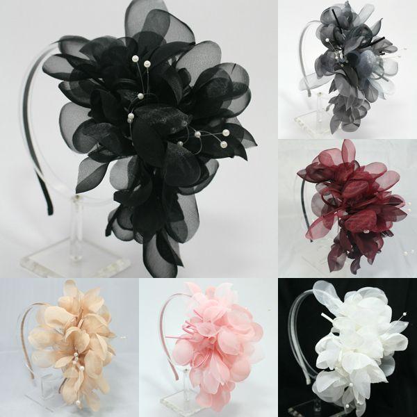 Oversized Flower Headband Wedding Bridal Hair Accessory