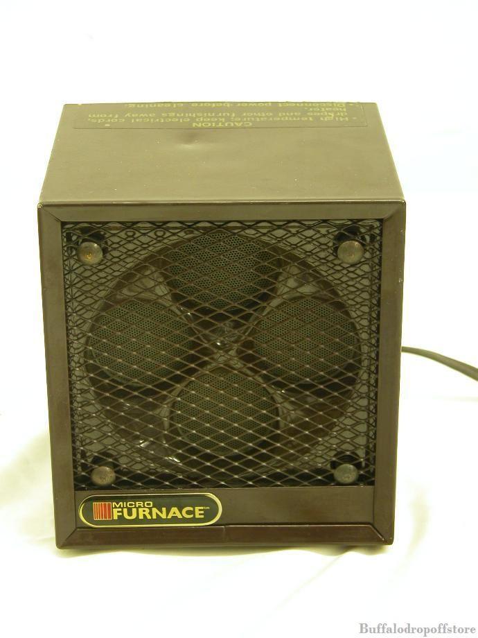 pictured microfurnace disc furnace ceramic space heater 1500 used