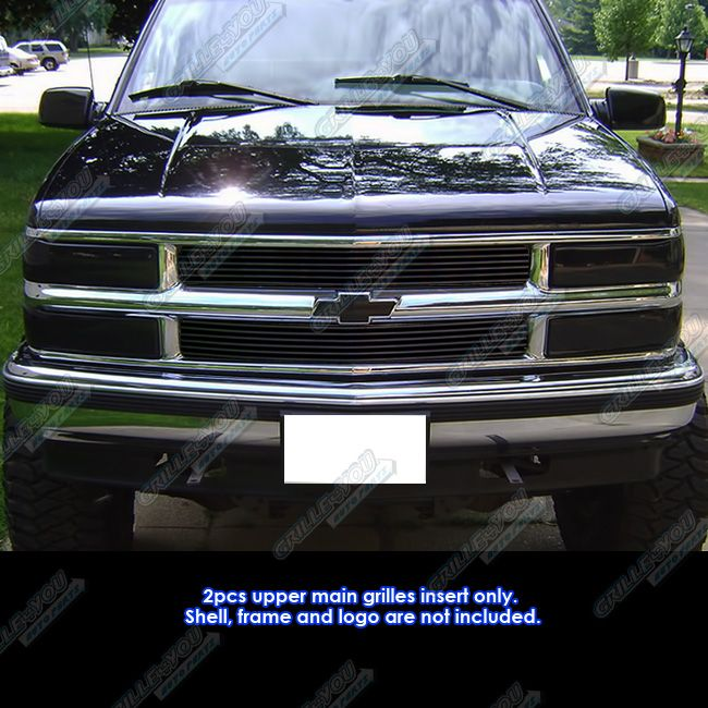 94 99 Chevy Blazer C K Pickup Suburban Tahoe Black Billet Grille Grill