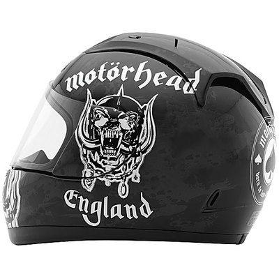 Motorhead Full Face Street Bike Sport Bike Vintage Motorcycle Helmet
