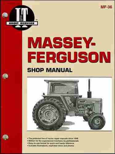 Complete Massey Ferguson MF 285 Tractor Shop Manual