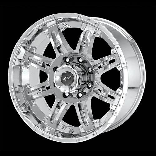 17 inch Chrome Wheels Rims Chevy Silverado 1500 Truck Tahoe GMC Sierra