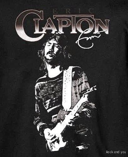 Eric Clapton Cream Vintage Rock RARE T Shirt s NWT