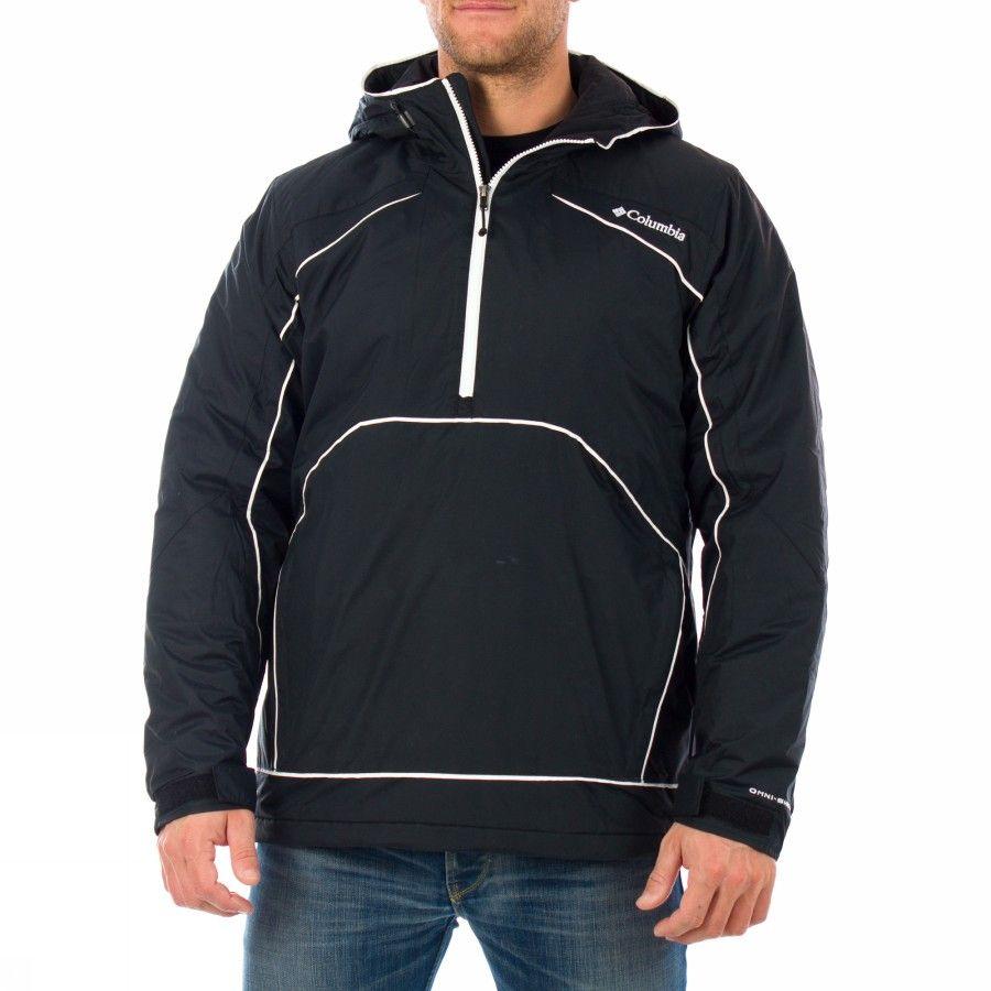 Columbia Antler Falls 3 Pullover Jacket [S] Black Padded Jacket Mens